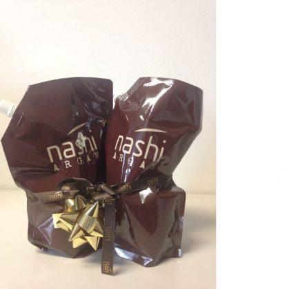 Nashi Argan Shampoo und Conditioner 1L