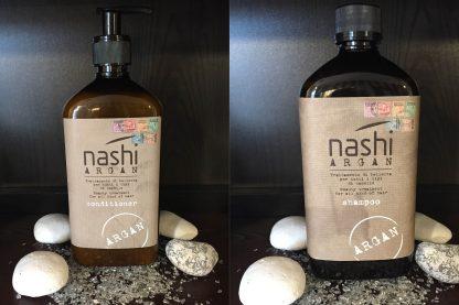 Nashi Argan Shampoo und Conditioner 500ml